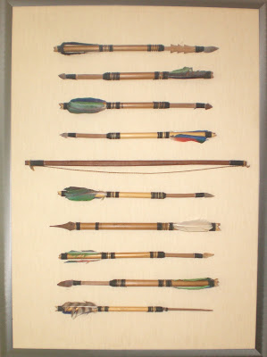 Indian Arrows Art