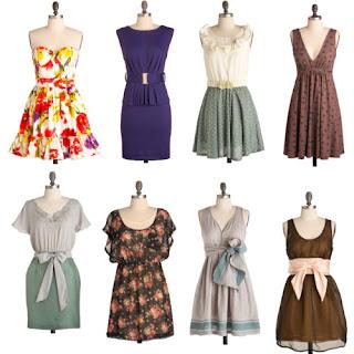 fotos, imagens e modelos de vestidos vintage da moda retro
