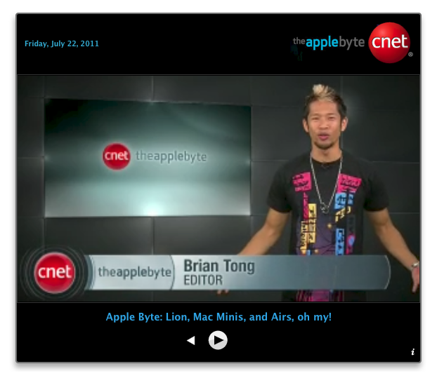 CNET – The Apple Byte