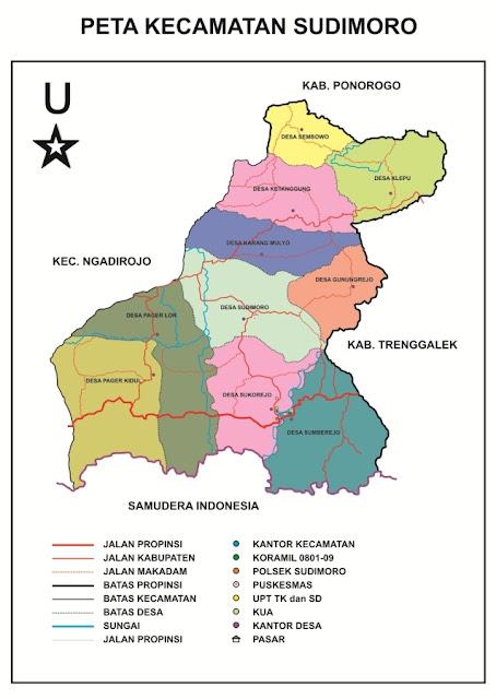 Profil Kecamatan Sudimoro Kabupaten Pacitan Provinsi Jawa Timur