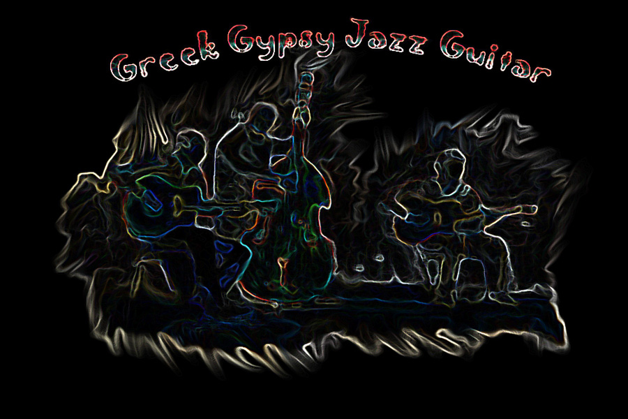 Greek Gypsy Jazz Guitar