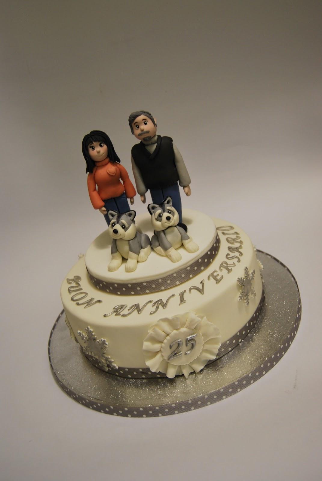 Lo zuccherino magico anniversario dei 25 anni di matrimonio for Anniversario matrimonio 25