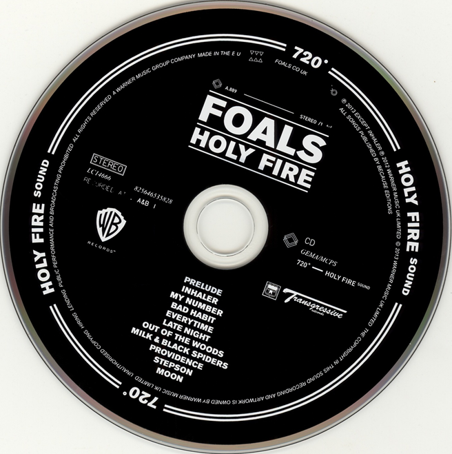 foals holy fire album cover analysis By 2013's holy fire, foals were a legitimate arena act and acted like they've   production, meaning they're walking the same path as coldplay ca  as raw as  you can get when your producer's two other gigs in 2015 were.