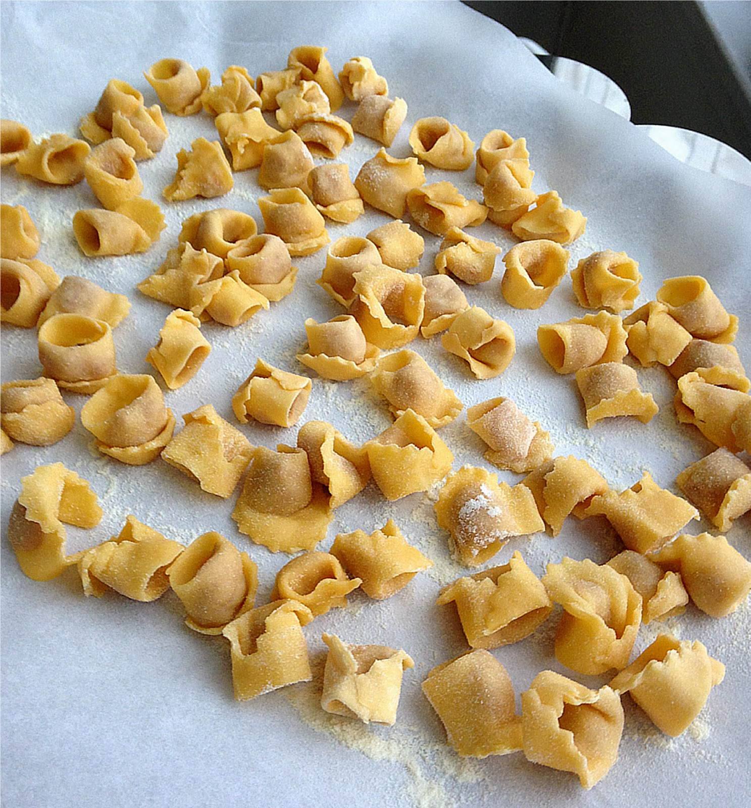 nuts about food cappelletti and making fresh pasta