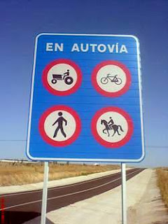 Dudas sobre carril bici. Prohibido+bicis