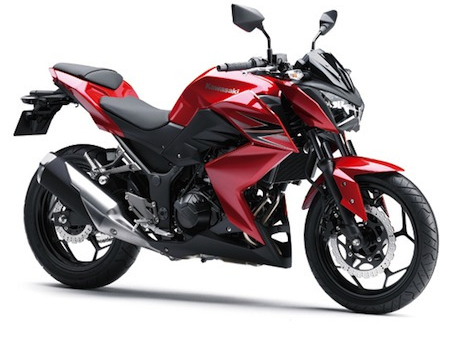 Gallery Kawasaki Z250 Red