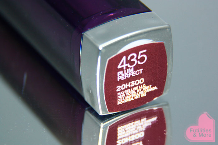 Maybelline, Plum Perfect, Lipstick, For Fall, asian eyes, asian monolid, makeup tutorial, makeup reviews, product reviews, cosmetics, make up, makeup, maquillage, tuto, yeux, asiatique, futilitiesandmore.blogspot.com, futilities and more, futilitiesandmore