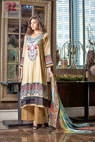 Mahnoor Inconceivable, Mahnoor Embroidered Patches, Mahnoor Patches Lawn, Mahnoor Lawn Collection 2014