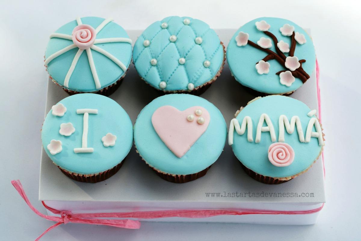 paso a paso cupcakes del día de la madre