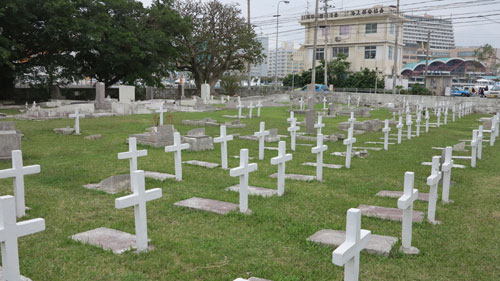 Tomari International Cemetery, Naha, Okinawa
