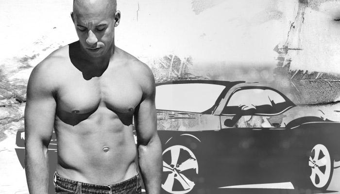 Vin Diesel Shirtless Body PhotosVin Diesel Muscles 2012