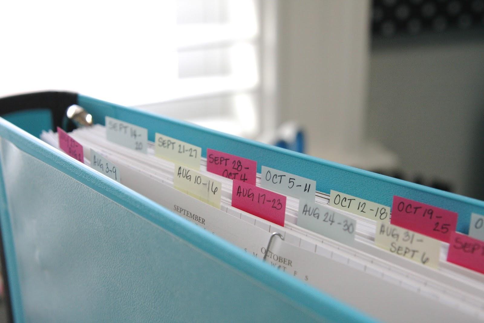 Organized Master Calendar Simply Organized