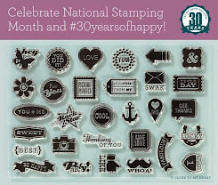 September Special: National Stamping Month #30yearsofhappy