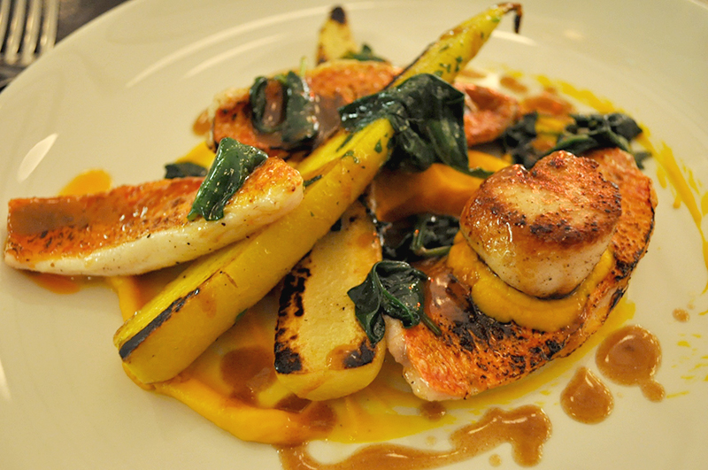 Scallops and fine dining at the Magdalen Chapter Hotel