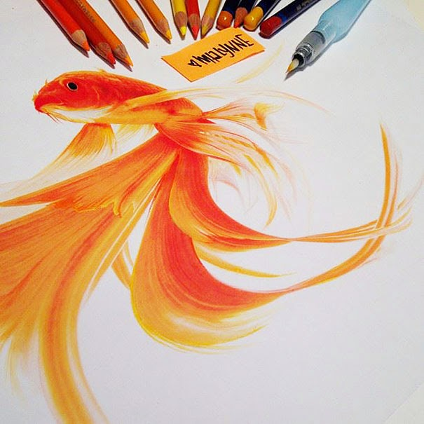 Karya Seni Lukis yang Begitu Nyata by Karla Mialynne