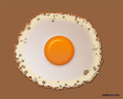 Creating A Fried Egg in Photoshop