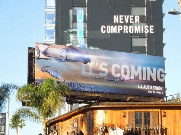 LA Auto Show 2013 billboard