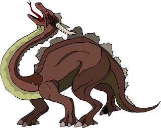 Brown Big Monster Free Clipart