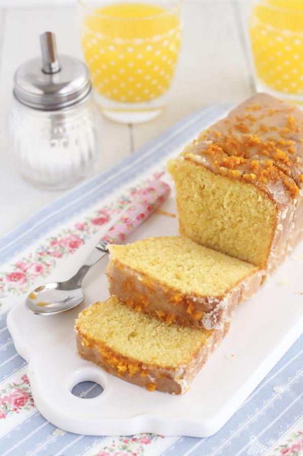 Receta cake de naranja