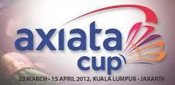 Jadual Perlawanan Piala Axiata 2012