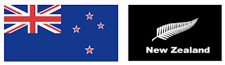 current New Zealand flag and possible alternative