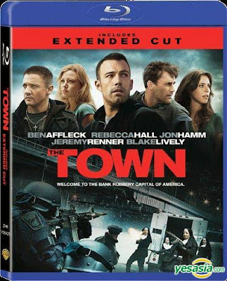 The Town (2010) Dual Audio [Hindi English] EXTENDED BRRip 400MB Download