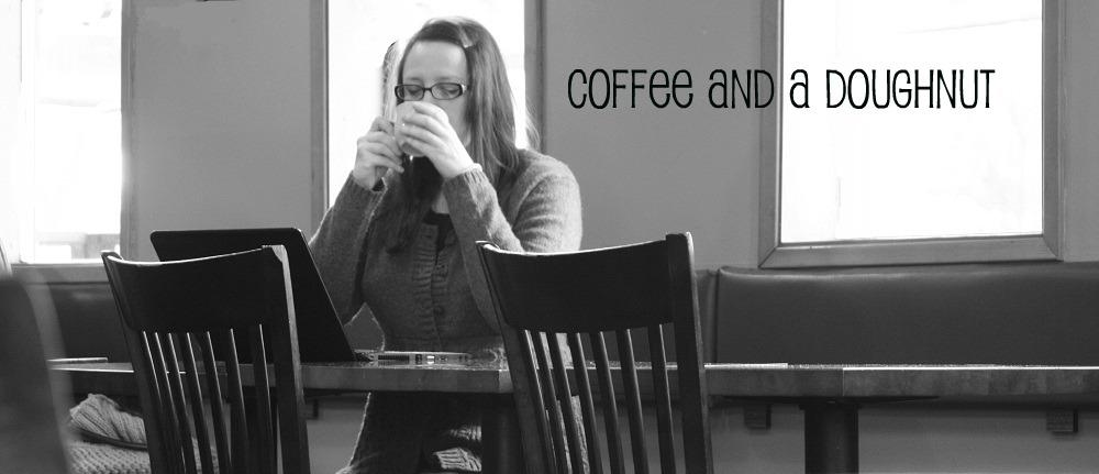 coffee and a doughnut