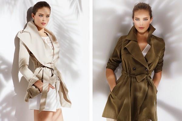 ropa de mujer Suiteblanco primavera verano 2015 gabardina trench