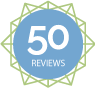 50 Reviews