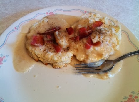 Homemade Biscuits Homemade Bacon Gravy Breakfast