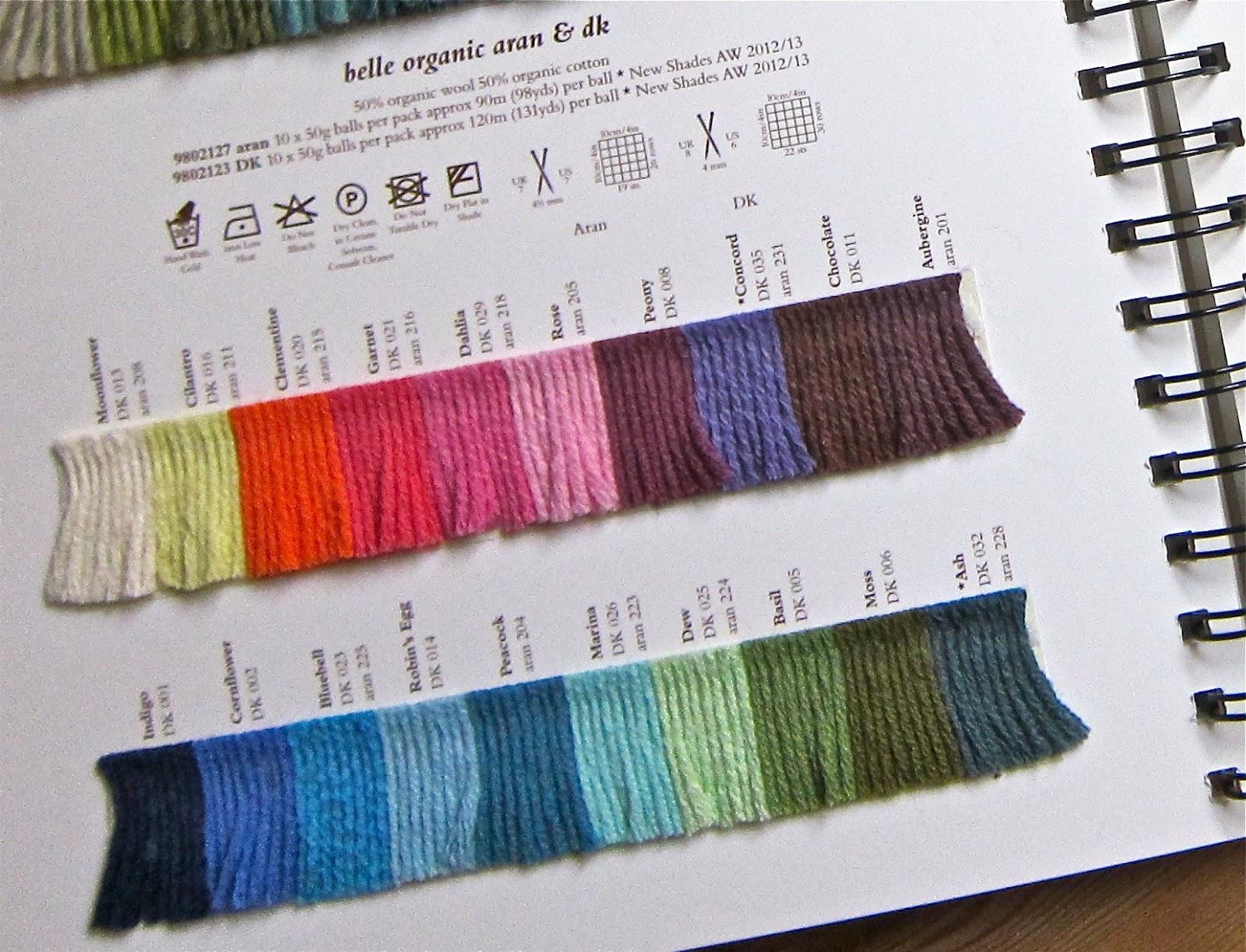 review of rowan s new yarns