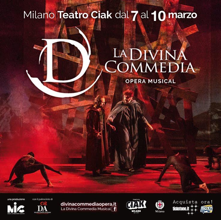 La Divina Commedia a Milano: acquista qui il tuo biglietto