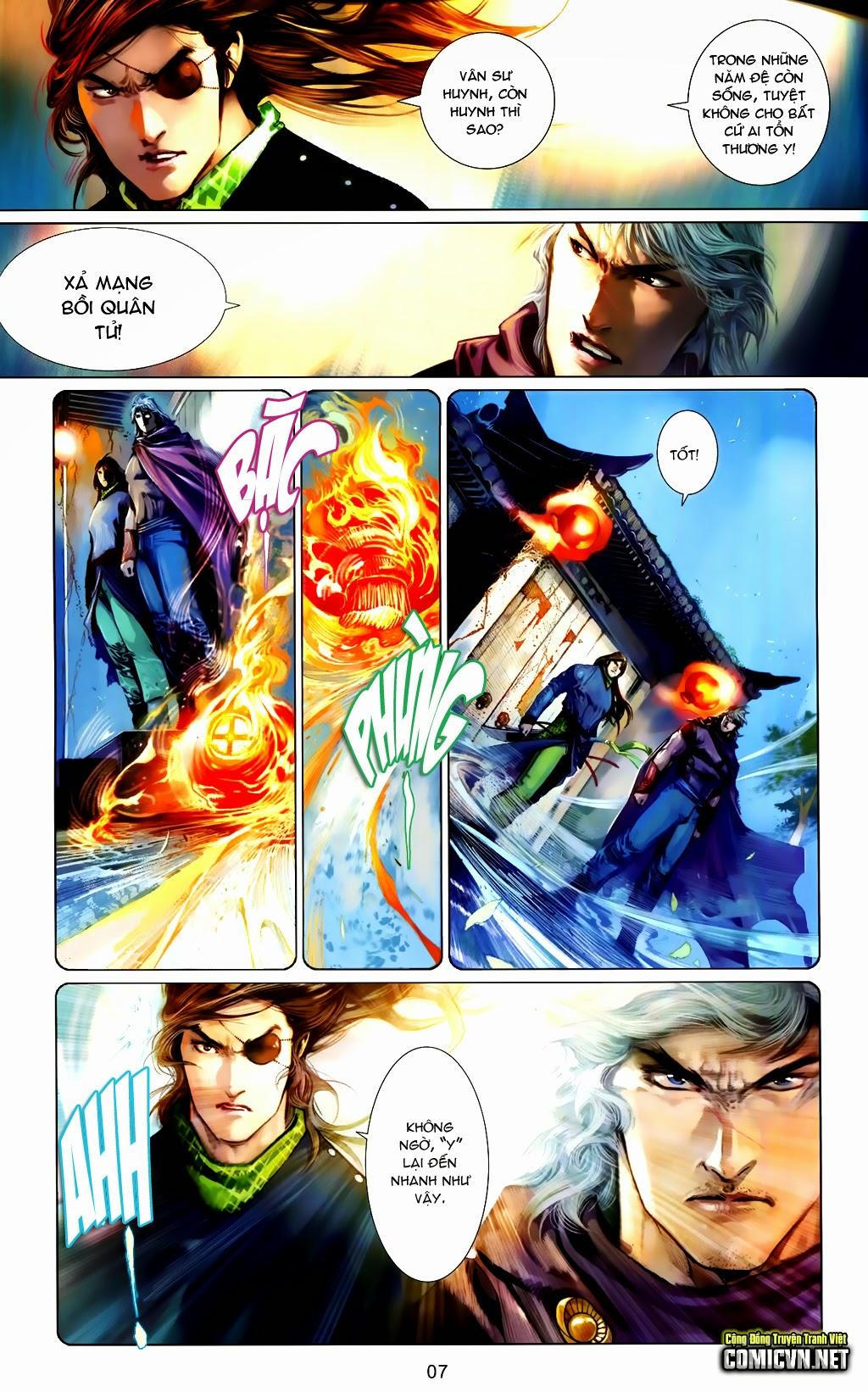 Phong Vân Chap 663 - Trang 7