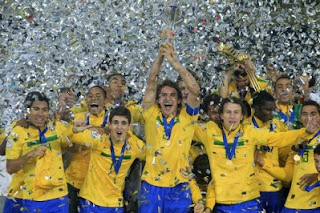 FÚTBOL-La selección brasileña Sub-20 campeona mundial