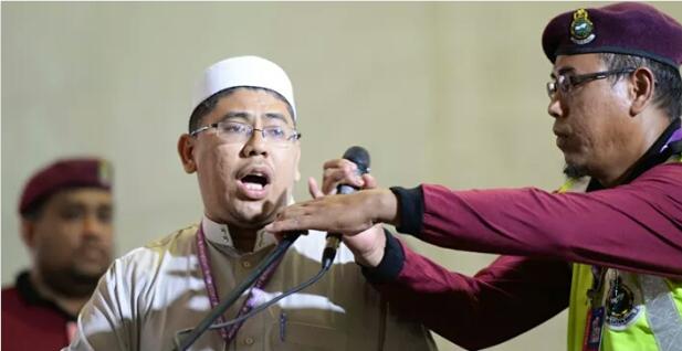 KECOH Perwakilan baca doa KUTUK Mat Sabu dua ADUN Hinggakan Perwakilan Anwarinas MELURU Ke Pentas MEMBANTAH