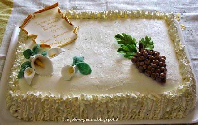 Bien connu Torta Prima Comunione by Fragole e panna - Pagina 1 VA75