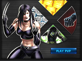 x 23 marvel avengers alliance  PVP época 5
