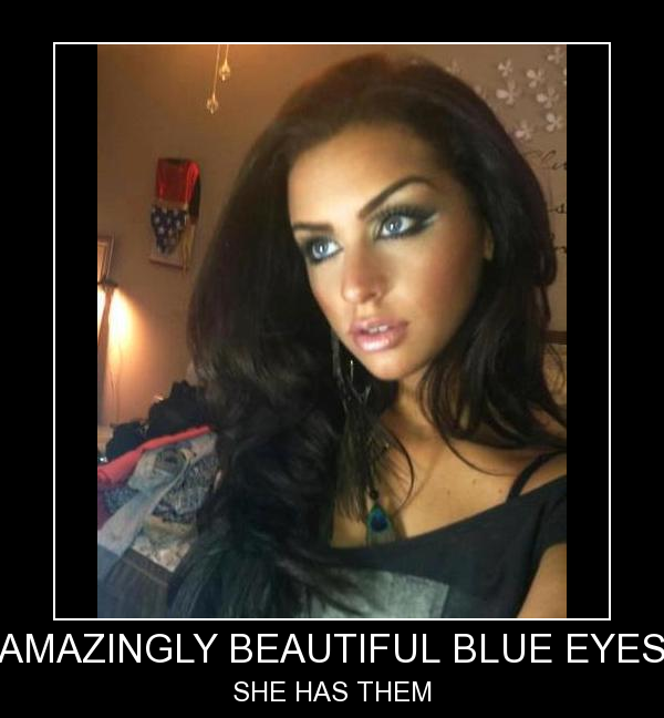 Amazing Beautiful Blue Eyes