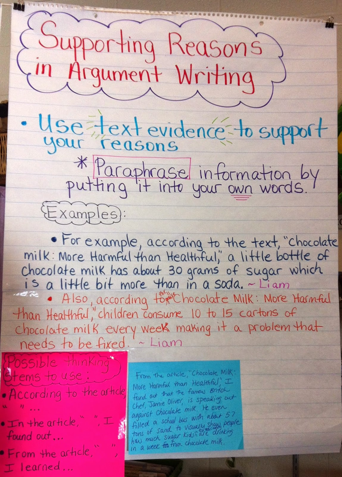 Student Choice Argument Essay