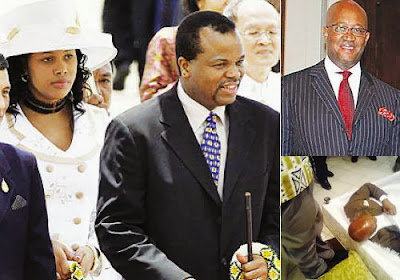 Skandal Seks Ratu Nothando, Swaziland