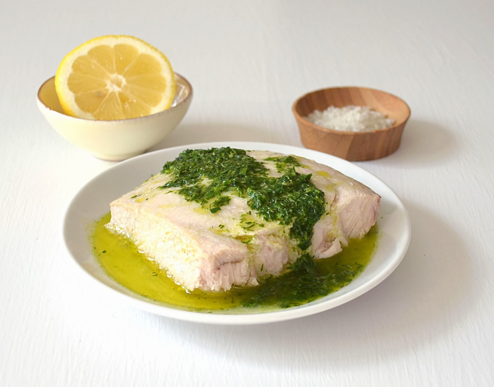 Jilly inspired baked fish with lemon herb sauce for Sauce for baked fish