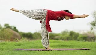 Pop Singer Smita Yoga Day special photos