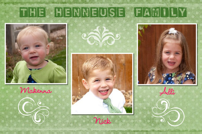 The Henneuse Family