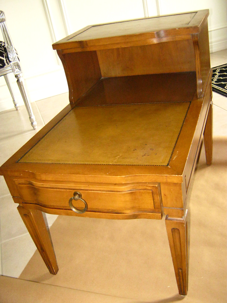 AM Dolce Vita: Before and After: Two-Tier End Table