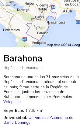 Conoce Barahona