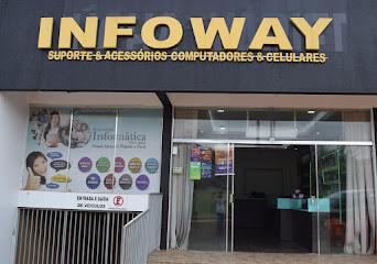 Se seu computador ou celular estragou, venha para a Infoway em Turvo