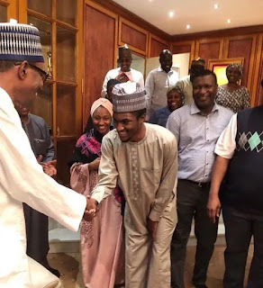 Yusuf Buhari: Photos of president's son after foreign trip emerge [PHOTOS]
