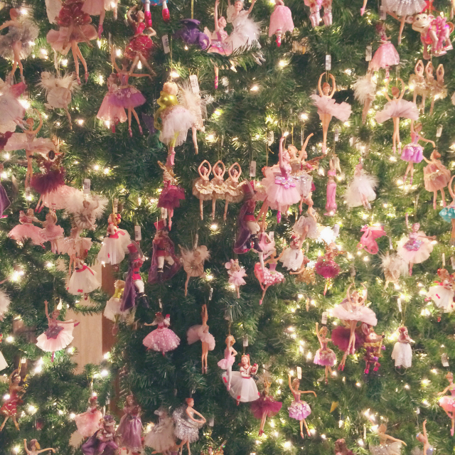 Adore to adorn holidaze for Ballerina tree decoration
