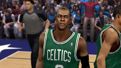 NBA 2K13 PC Mods Rajon Rondo Cyberface