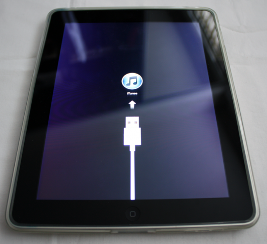 Recovery mode for ipad 1